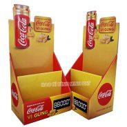 Kệ giấy trưng bày nước ngọt CocaCola