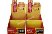 Kệ giấy trưng bày CocaCola | Bình Minh PAT sản xuất