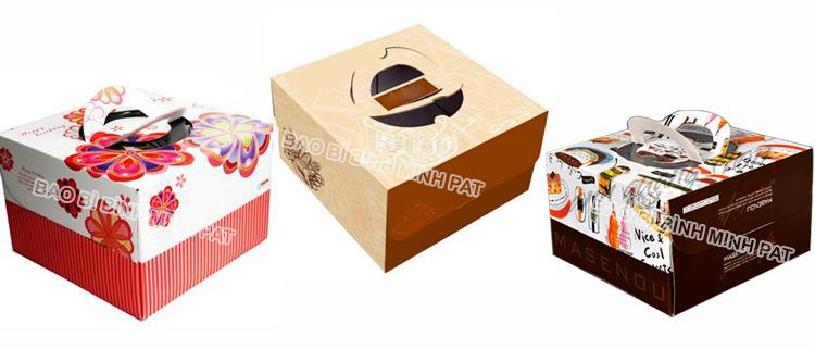 In hộp Bánh Kem giá rẻ