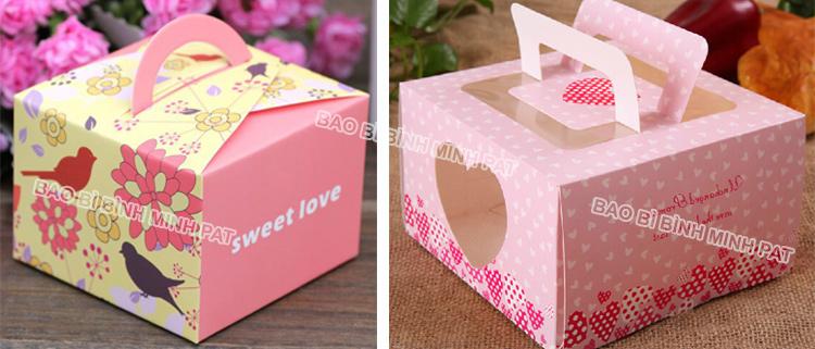 In hộp Bánh sinh nhật giá rẻ