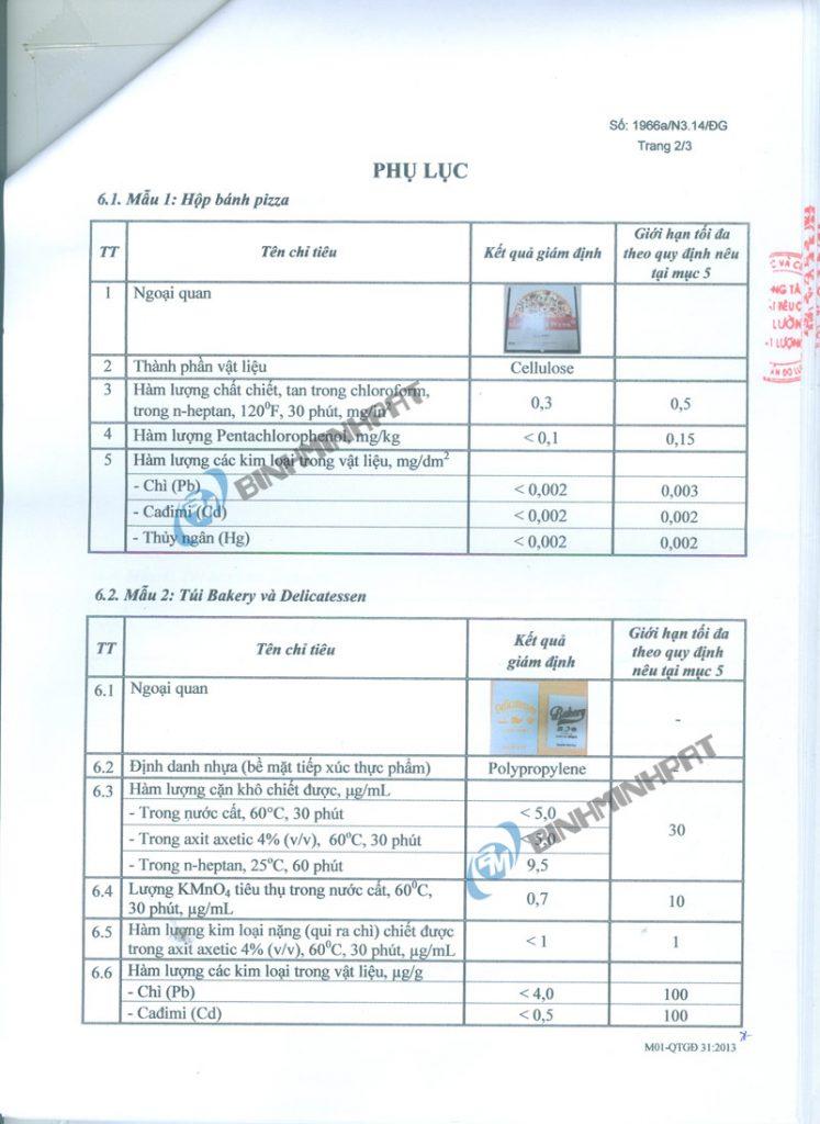giấy giám định an toàn thực phẩm - hinh 2