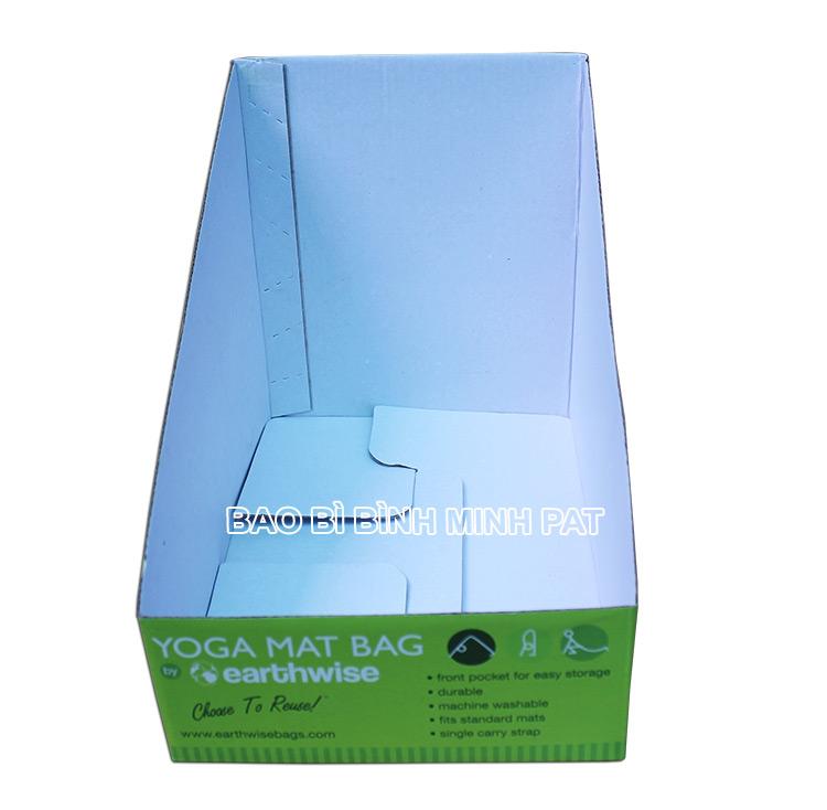 Khay giấy trưng bày dụng cụ tập YOGA - hinh 01