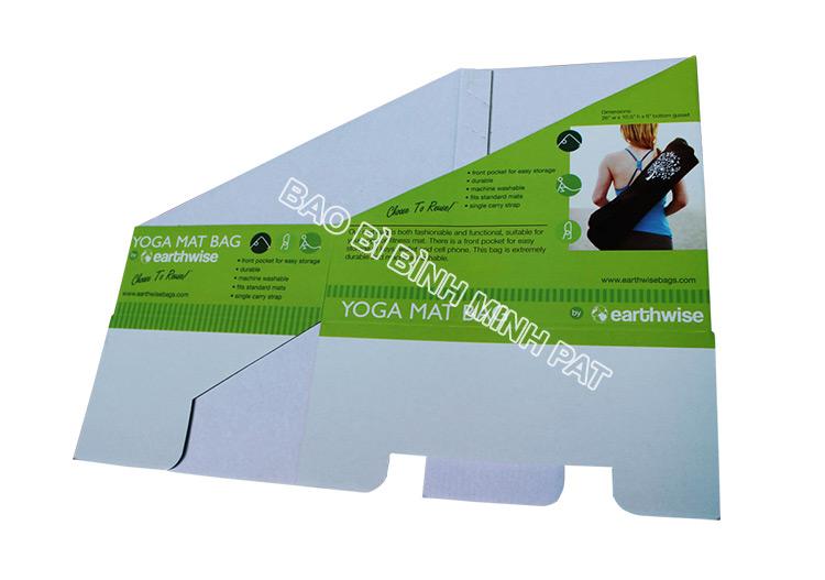 Khay giấy trưng bày dụng cụ tập YOGA - hinh 05